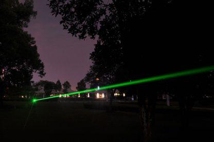 30 mW de láser
